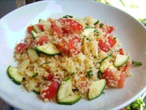 Couscous Estivo con Zucchine e Pomodorini